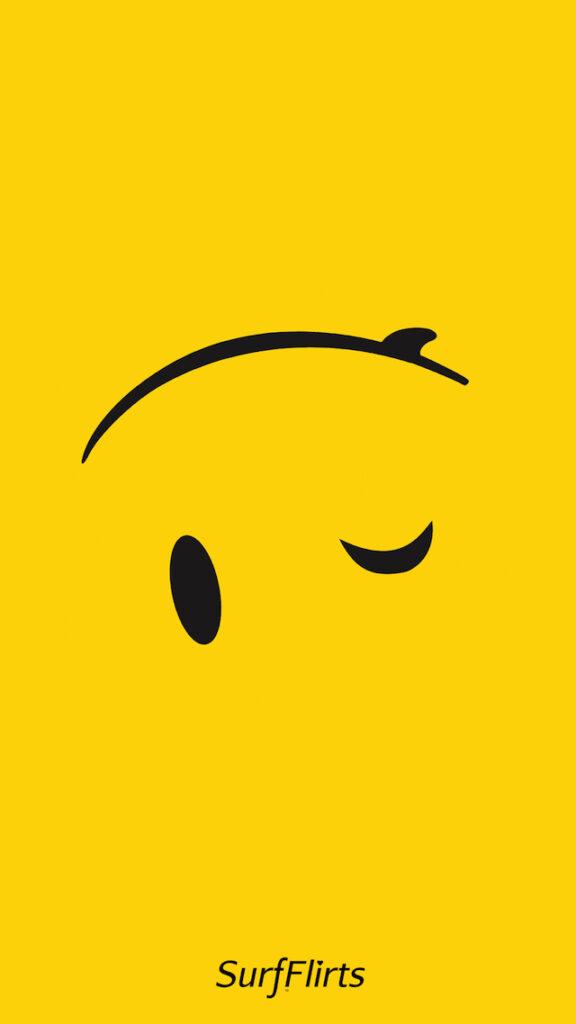 Boarding-Wallpapers-SurfFlirts-Smiley-Face-Wink-Surfboard-upside-down