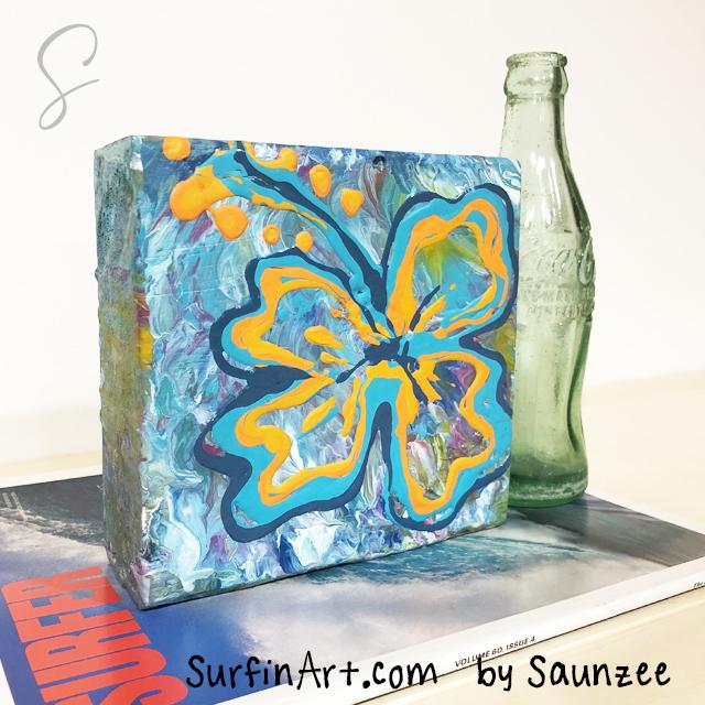 Surf-Art-Paint-Pouring-Art-Hibiscus-Flower-Art-Decor-8456