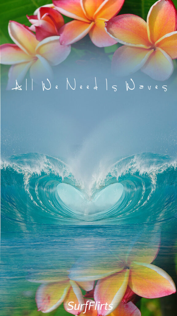 SurfFlirts-all-we-need-is-waves-sea-of-hearts-love-CARD-Surf-Flirts