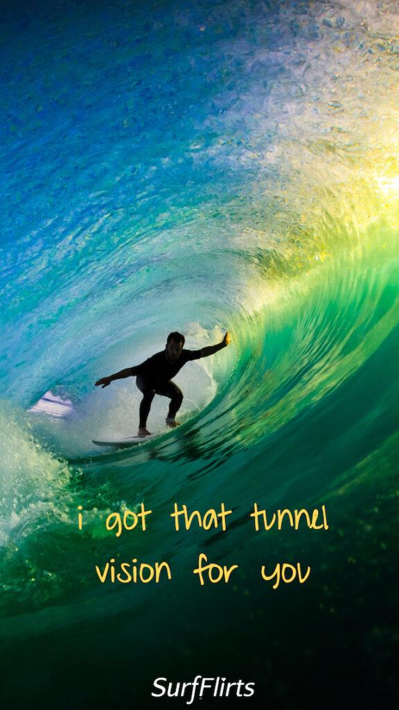 SurfFlirts-i-got-that-tunnel-vision-for-you-CARD-Surf-Flirts