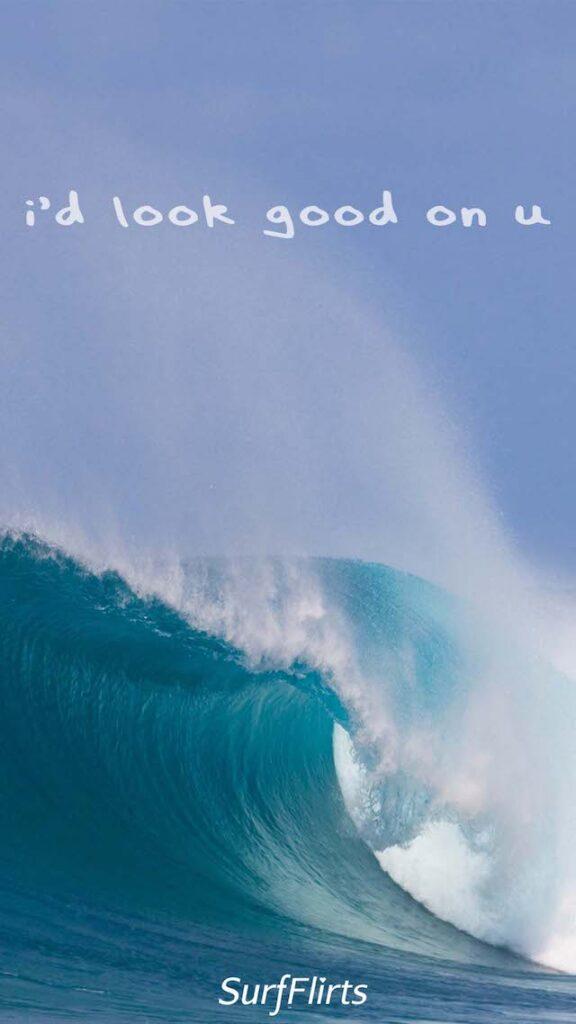 SurfFlirts-id-look-good-on-u-ocean-Wave-Firt-CARD-Surf-Flirt