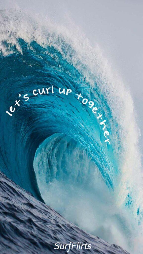 SurfFlirts-lets-curl-up-together-Ocean-Wave-CARD-Surf-Flirts