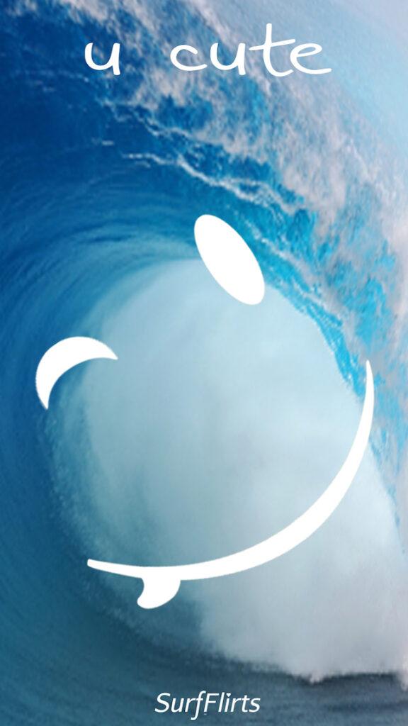 SurfFlirts-u-cute-i-just-wanted-to-send-you-a-wink-CARD-Surf-Flirts