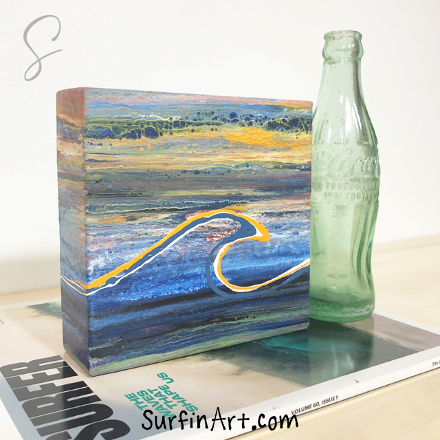 Surfin-Art-Sunset-Ocean-Wave-Painting-Surf-Art-8406