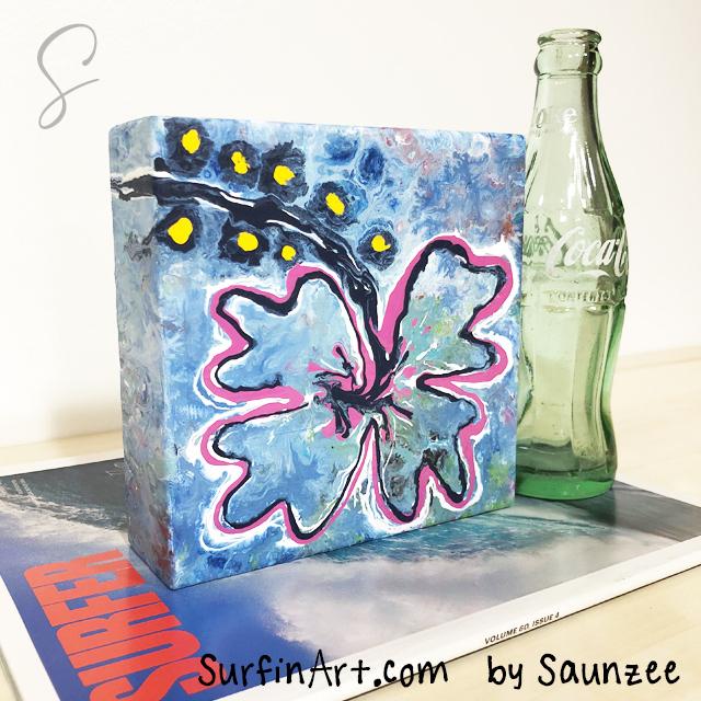 Surfing-Art-Paint-Pouring-Art-Hibiscus-Pink-Flower-Art-8449