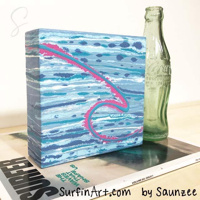 Surfing-Art-Surfer-Girl-Pink-Wave-Art-SurfGirl-Paintings-8404