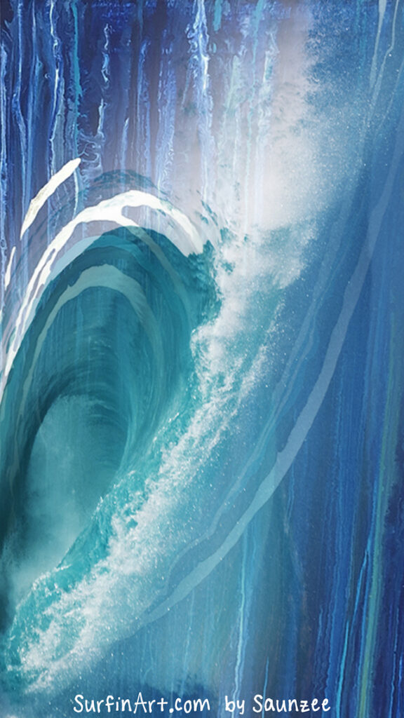 Surfing-Wallpaper-Wave-photo-Surfin-Art-by-Saunzee-Surf-Art-Wall