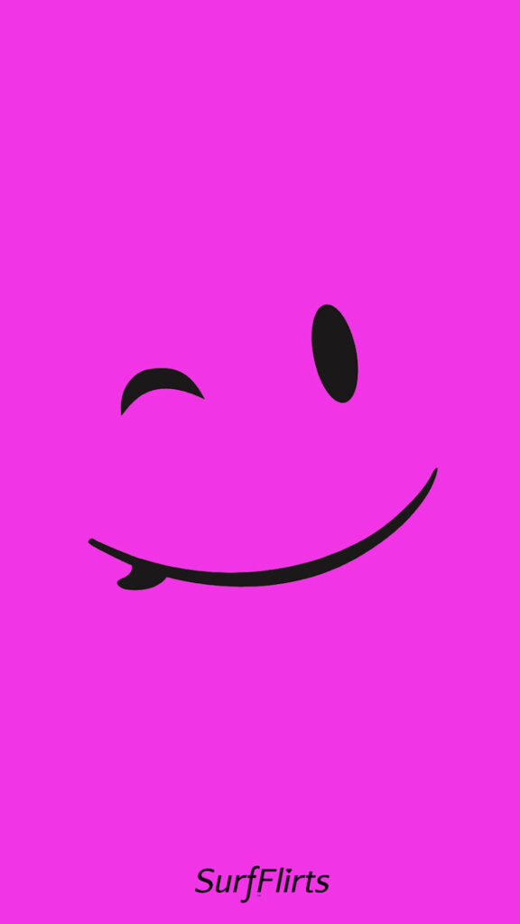 Surfing-Wallpapers-surfergirl-SurfFlirts-pink-surfboard-smiley-face-wink